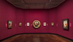 Raffael Gemäldegalerie Ausstellungsansicht Foto David von Becker