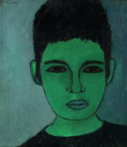 Sarah Haffner Selbstbildnis 1963 Galerie Poll