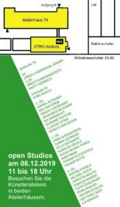 Oberschöneweide Open Studios 2. Advent KuenstlerInnen