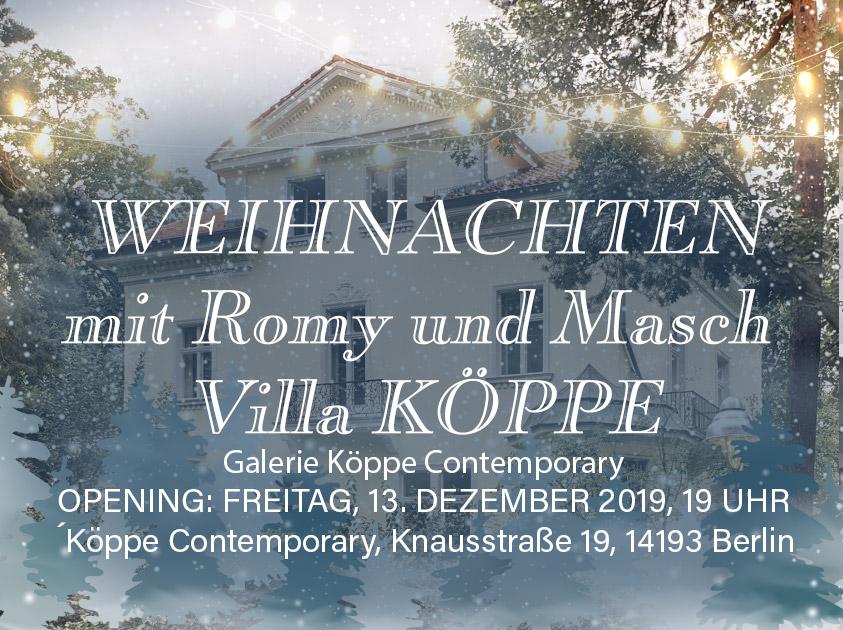 Weihnachten mit Romy und Masch in der Villa Köppe