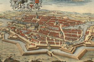 CLB_Navigating_Berlin_1688,_Residentia_Electoralis_Brandenburgica,_Joh._Bernhard_Schultz,_Schulz_Nr._21,_Bln.StpSmlg