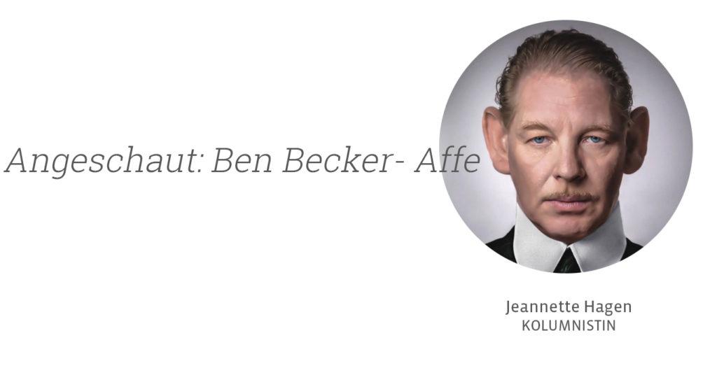 Ben Becker - Affe, Jeannette Hagen für Kunstleben Berlin