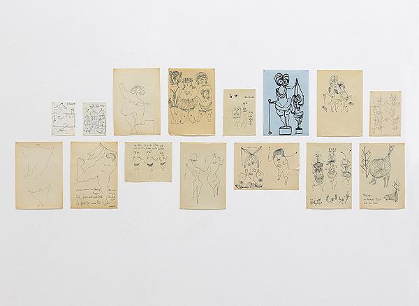 Klaus Heinrich ZEICHNUNGEN in der Galerie Klaus Gerrit Friese bis 22. Februar 2020