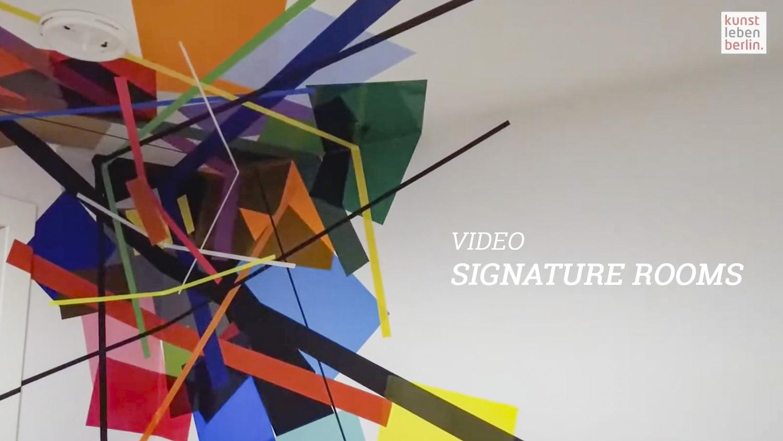 Signatur Rooms - Kunstleben Berlin
