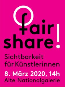 fair share! 8. März Demonstration Berlin