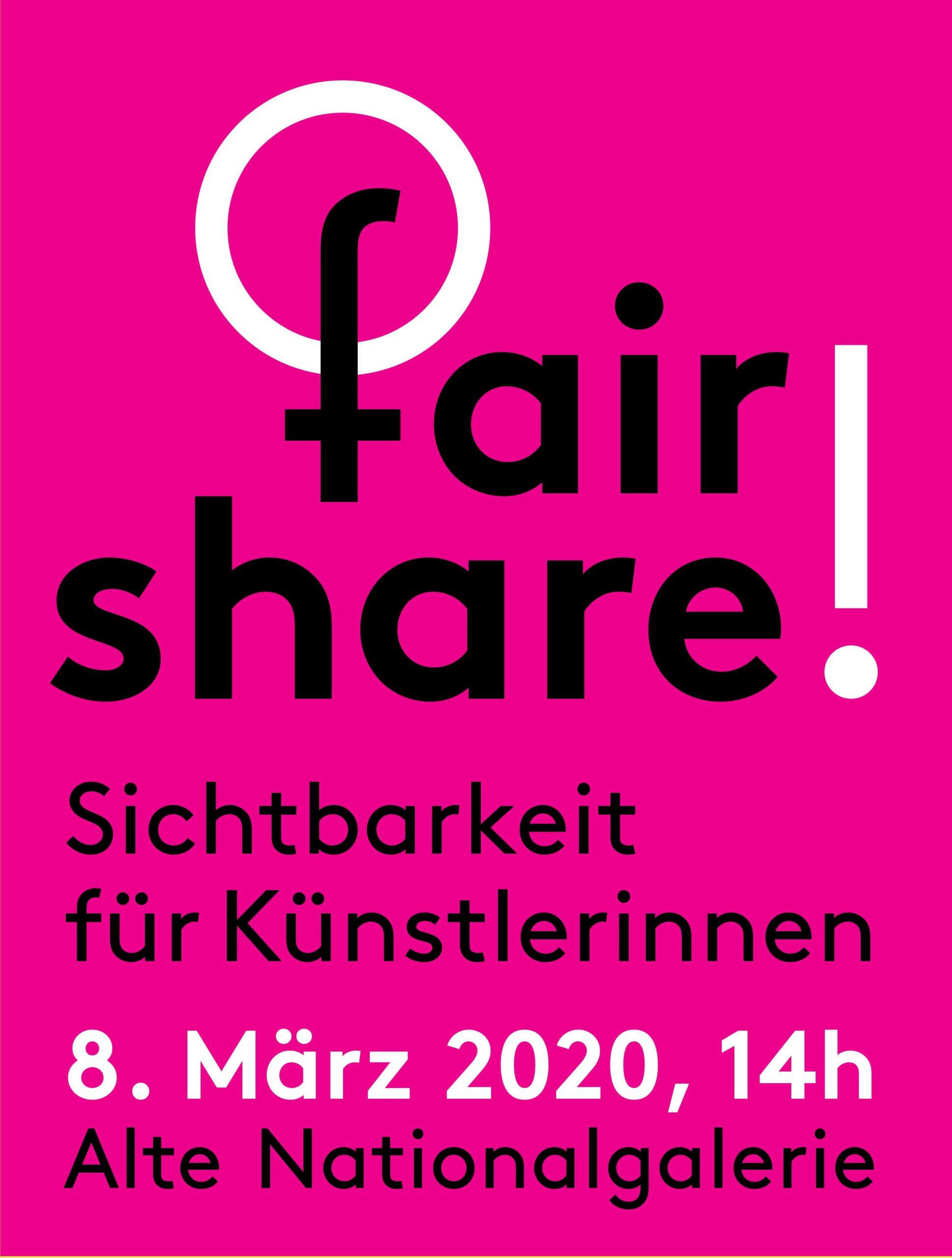 fair share! 8. März Demonstration Berlin