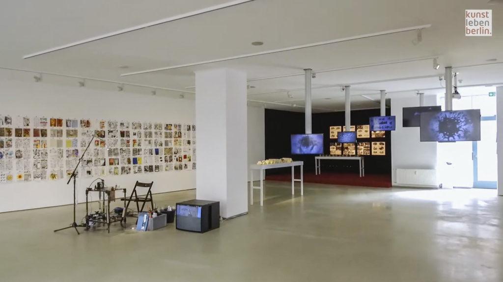 Mazen Kerbaj in der ifa Galerie Berlin