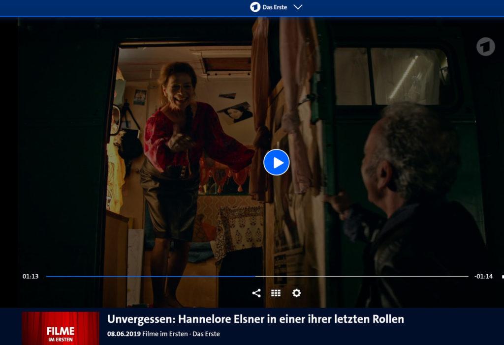Hannelore Elsner screenshot_ardmediathek