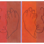 Maria Schumacher The Blues Are All The Same 2020 Öl auf Leinwand 100 x 140 cm @ galerie burster