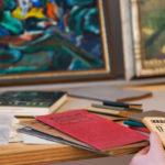 Nachlass Georg Kolbes: Blick auf Kalender GKM