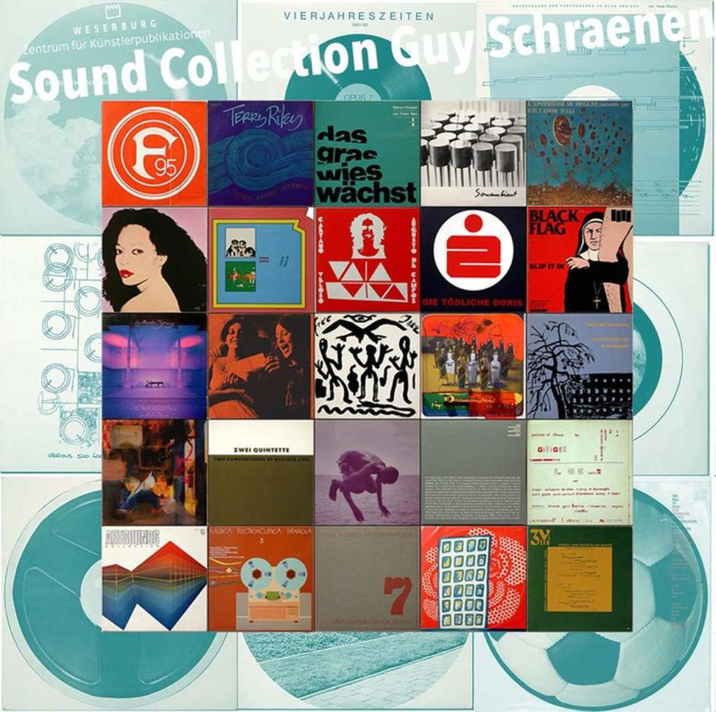 Sound Collection Guy Schraenen-forschung-kuenstlerpublikationen