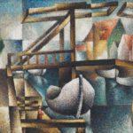 Abstand Galerie Haas Segal-Die_Brücke_in_Rügenwaldermünde,_1925
