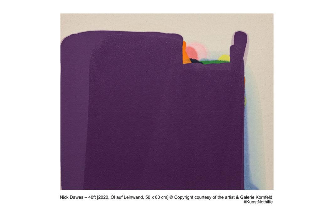 KunstNothilfe Nick Dawes – 40ft_Galerie Kornfeld