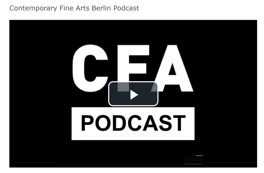Podcast Georg Baselitz CfA