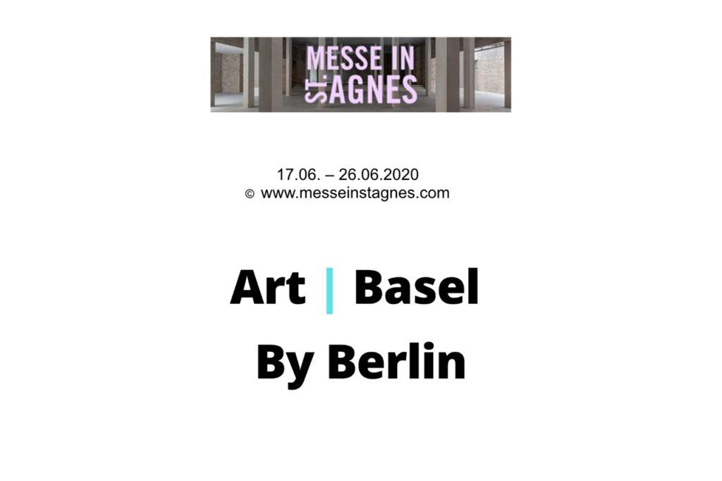 Art Basel in Berlin messeinstagnes 2020