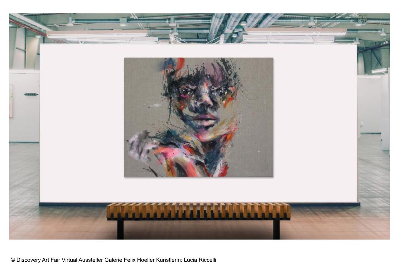 Discovery Art Fair Virtual_Aussteller Galerie Felix Hoeller_Kuenstlerin Lucia Riccelli