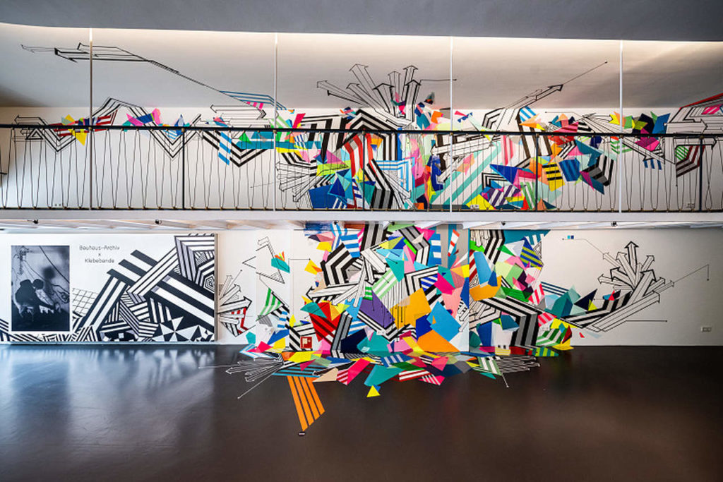 Bauhaus-Archiv x Klebebande