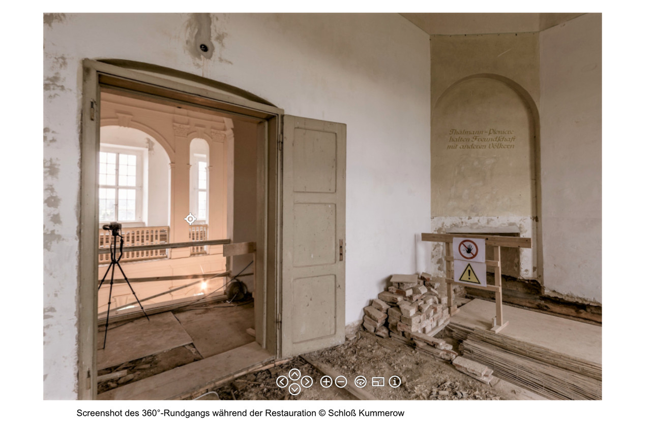 Kummerow - Historie des Schlosses