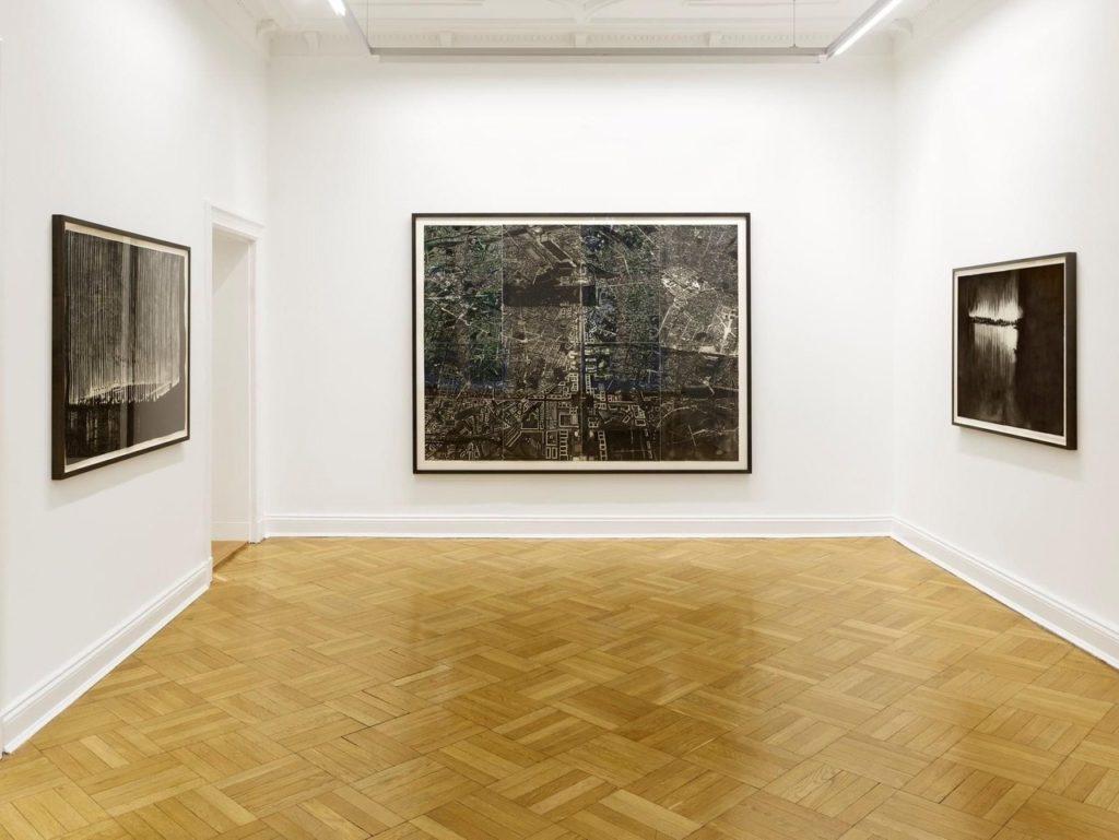 """Traurige Topoi"" Michael Wutz Galerie Friese"