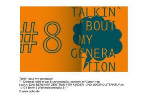 TALKIN' 'BOUT MY GENERATION im Garten