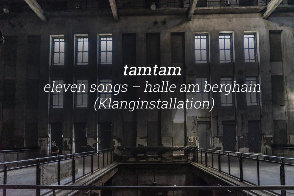 tamtam Berghain
