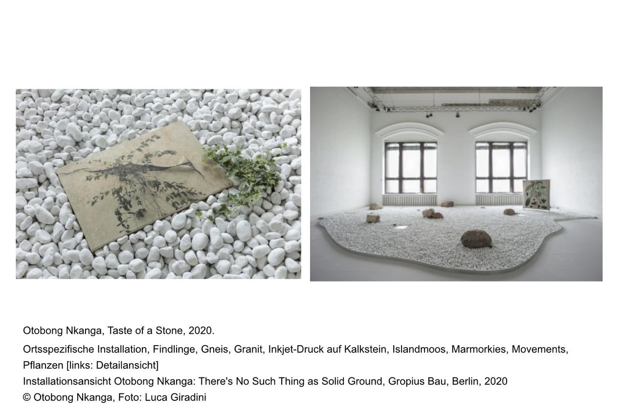 There's No Such Thing as Solid Ground - Gropius Bau - Kunstleben Berlin - das Kunstmagazin