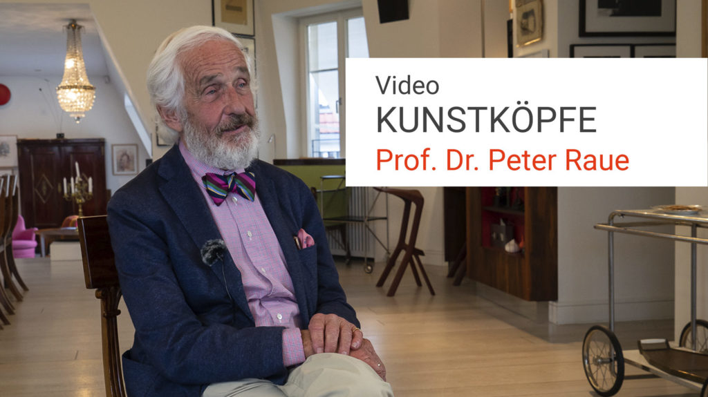 Peter Raue, Interview, Kunstköpfe, Kunstleben Berlin