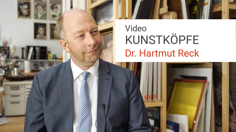 Video Kunstköpfe Hartmut Reck Kunstleben Berlin