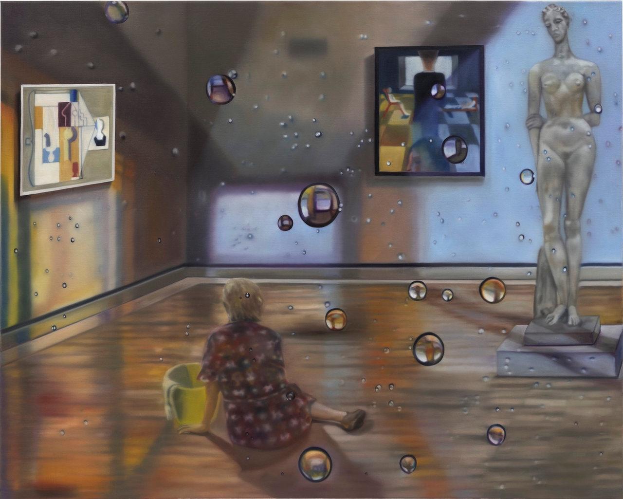 Re/Konstruktion Karin Kneffel Galerie Friese
