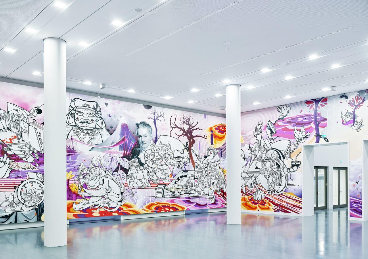 Berlin Global Werk Weltdenken Raumansicht How & Nosm c Kulturprojekte Berlin Foto Alexander Schippel