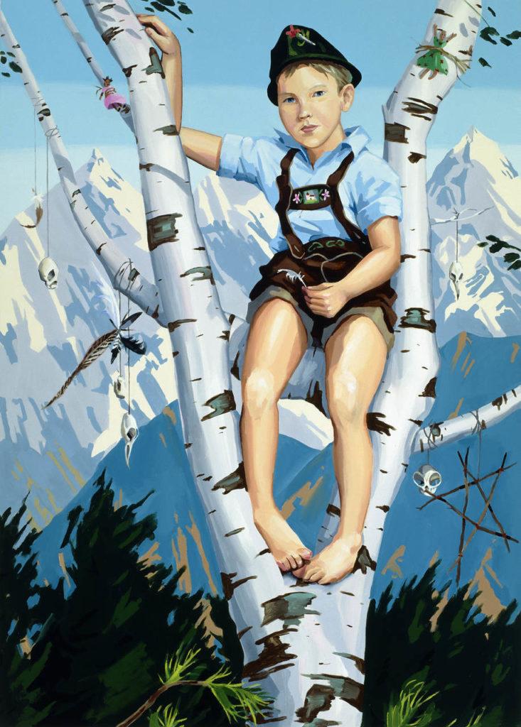 Christopher Winter The Trophy Tree, 2008, acrylic_canvas, 210x150 cm_Dirk Lehr
