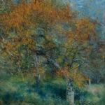 Impressionismus am Montag Pierre-Auguste Renoir Der Birnbaum, 1877, Öl auf Leinwand, 46,1 x 37,7 cm, Sammlung Hasso Plattner