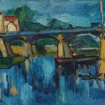 Landschaften der Fauvisten Maurice de Vlaminck Die Brücke von Chatou, 1906-07, Öl auf Leinwand, Sammlung Hasso Plattner, © VG Bild-Kunst, Bonn 2020