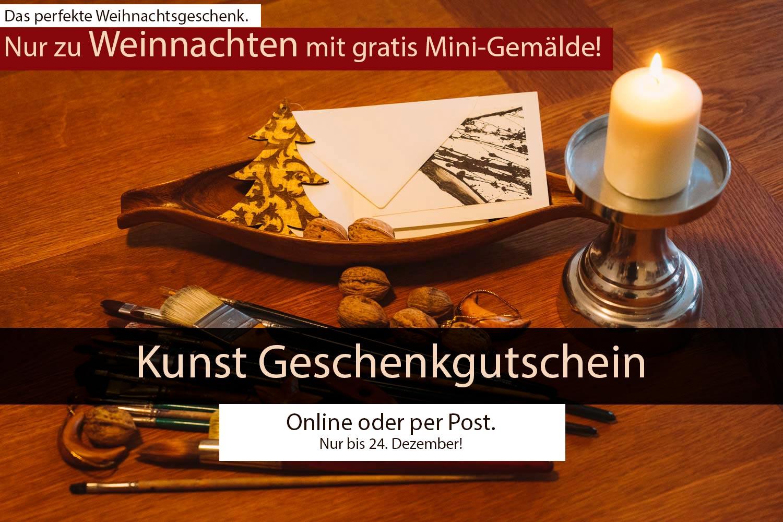 Kunst Geschenkgutschein Weihnachten Berlin