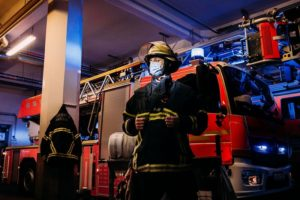 Fabian Zachej, Feuerwehr Hamburg