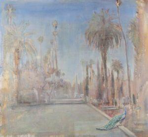 Miguel A. Machado Suárez,Paradigma,2020, Oil on canvas, 120 x 130 cm