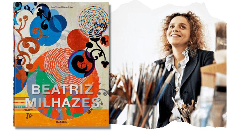 Beatriz Milhazes Hans Werner Holzwarth Hardcover, 25 x 33,4 cm, 3,47 kg, 528 Seiten ISBN 978-3-8365-8463-0 (Deutsch, Englisch, Französisch, Portugiesisch