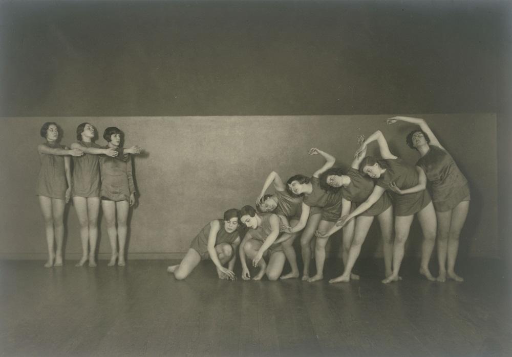 Schülerinnen der Tanzschule Skoronel in Berlin (Tanzgruppe Skoronel-Trümpy) © Staatliche Museen zu Berlin