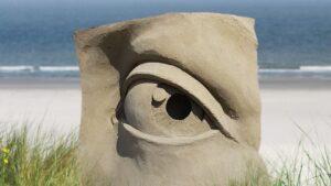 Kunst aus Sand im Livestream: Zandvoort krönt Europas Sandskulpturen-Meister 2021