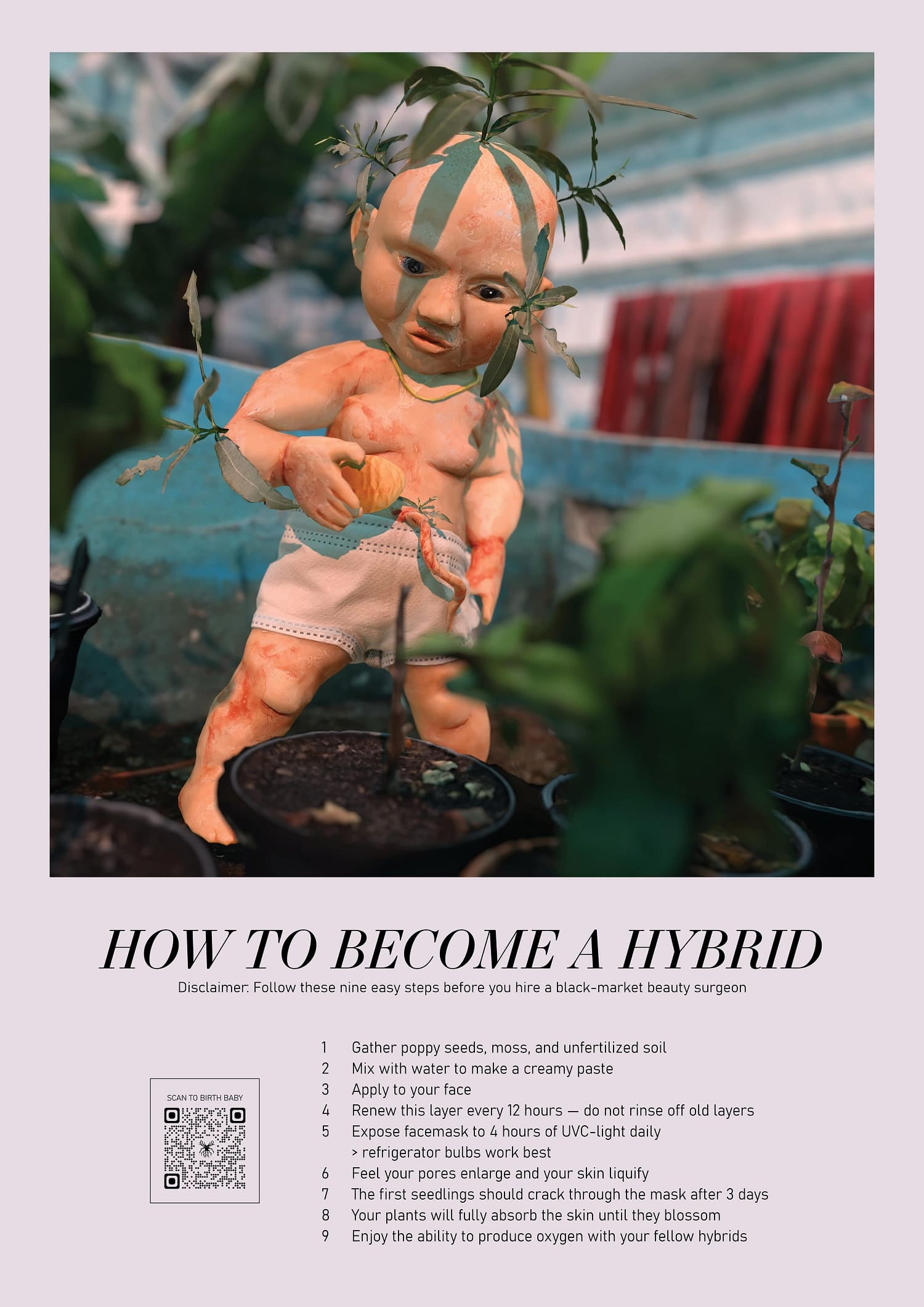 Bianca Kennedy & The Swan Collective_How to become a hybrid, …e Swan Collective