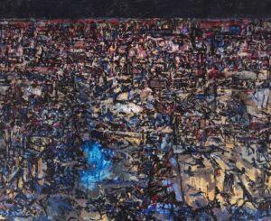 Tammam Azzam, Untitled, 2021, Acryl auf Leinwand, 140 x 170 cm