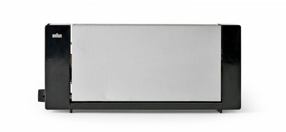 """Toaster """"HT 2"""", Entwurf: Reinhold Weiss 1963, Braun AG, Sammlung Werkbundarchiv – Museum der Dinge"""