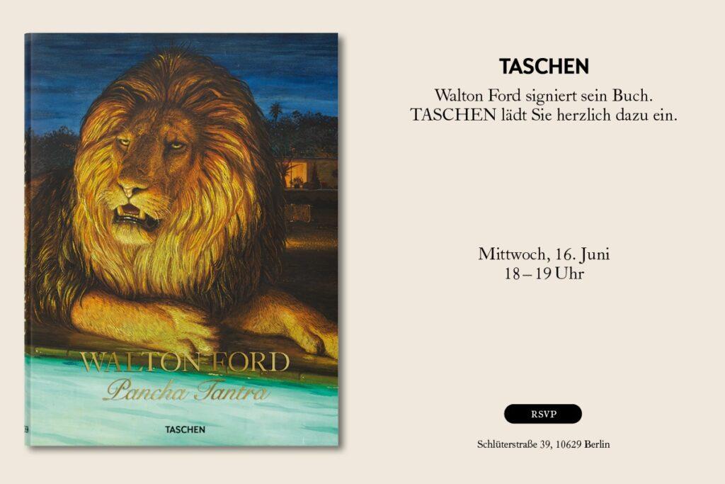 Walton Ford. Pancha Tantra. Updated Edition Walton Ford, Bill Buford Hardcover, 28 x 37,4 cm, 3,89 kg, 424 Seiten ISBN 978-3-8365-7815-8 (Deutsch, Englisch, Französisch)