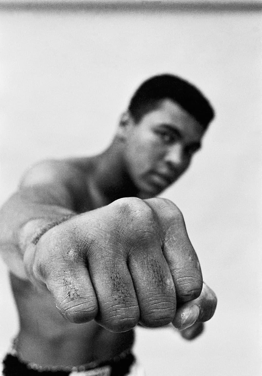 Thomas Hoepker Muhammad Ali Showing Off His Right Fist