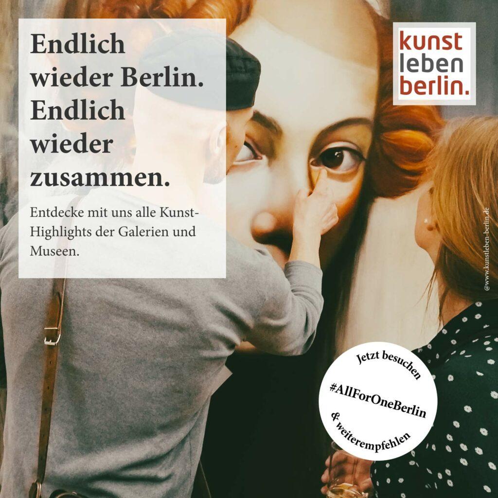 Kunstleben Berlin #allforoneberlin
