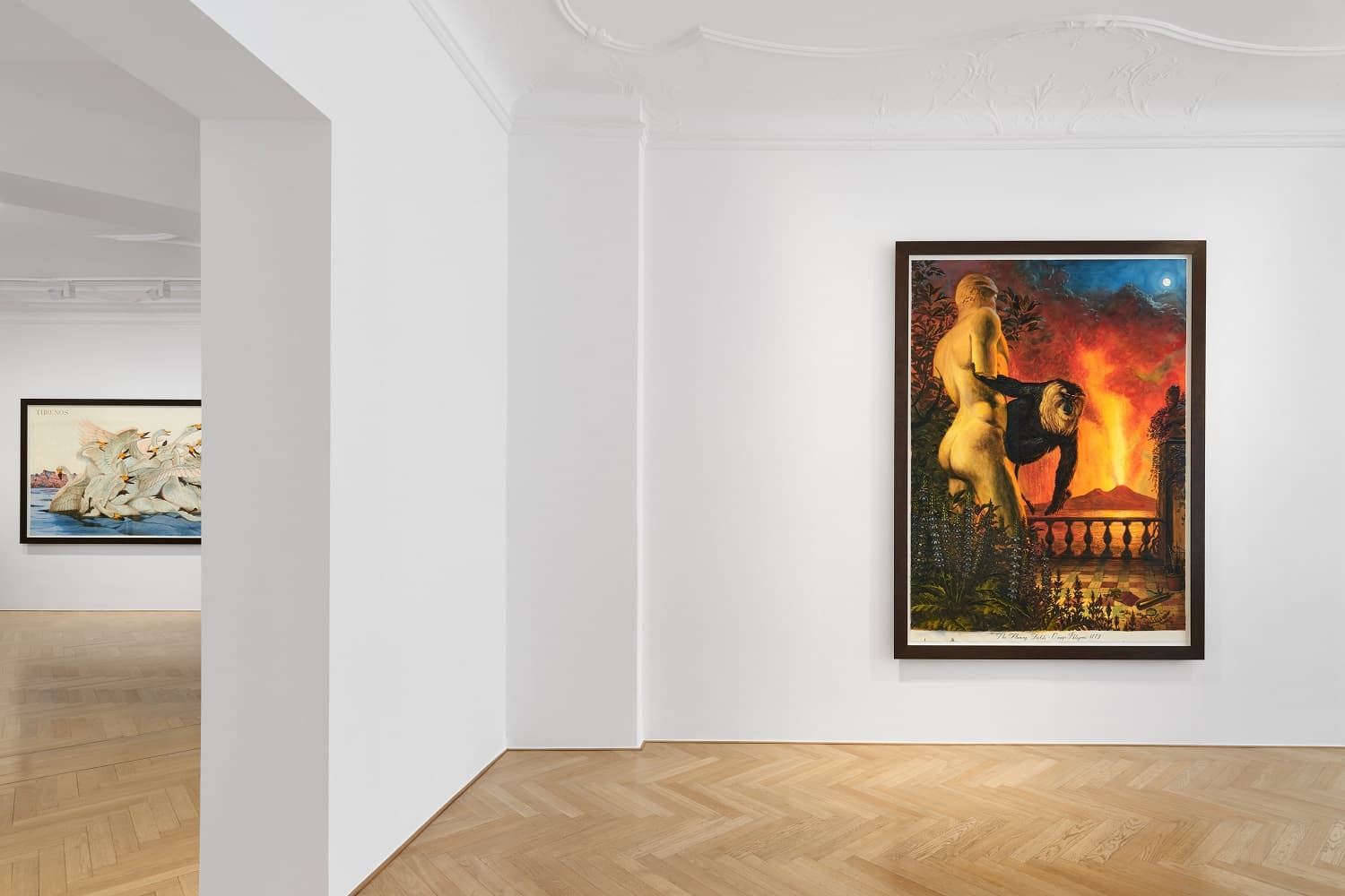 Walton Ford, Aquarelle, Galerie Max Hetzler, Berlin, 18 June – 14 August 2021. Courtesy of the artist and Galerie Max Hetzler, Berlin | Paris | London © Walton Ford. Photo: def image