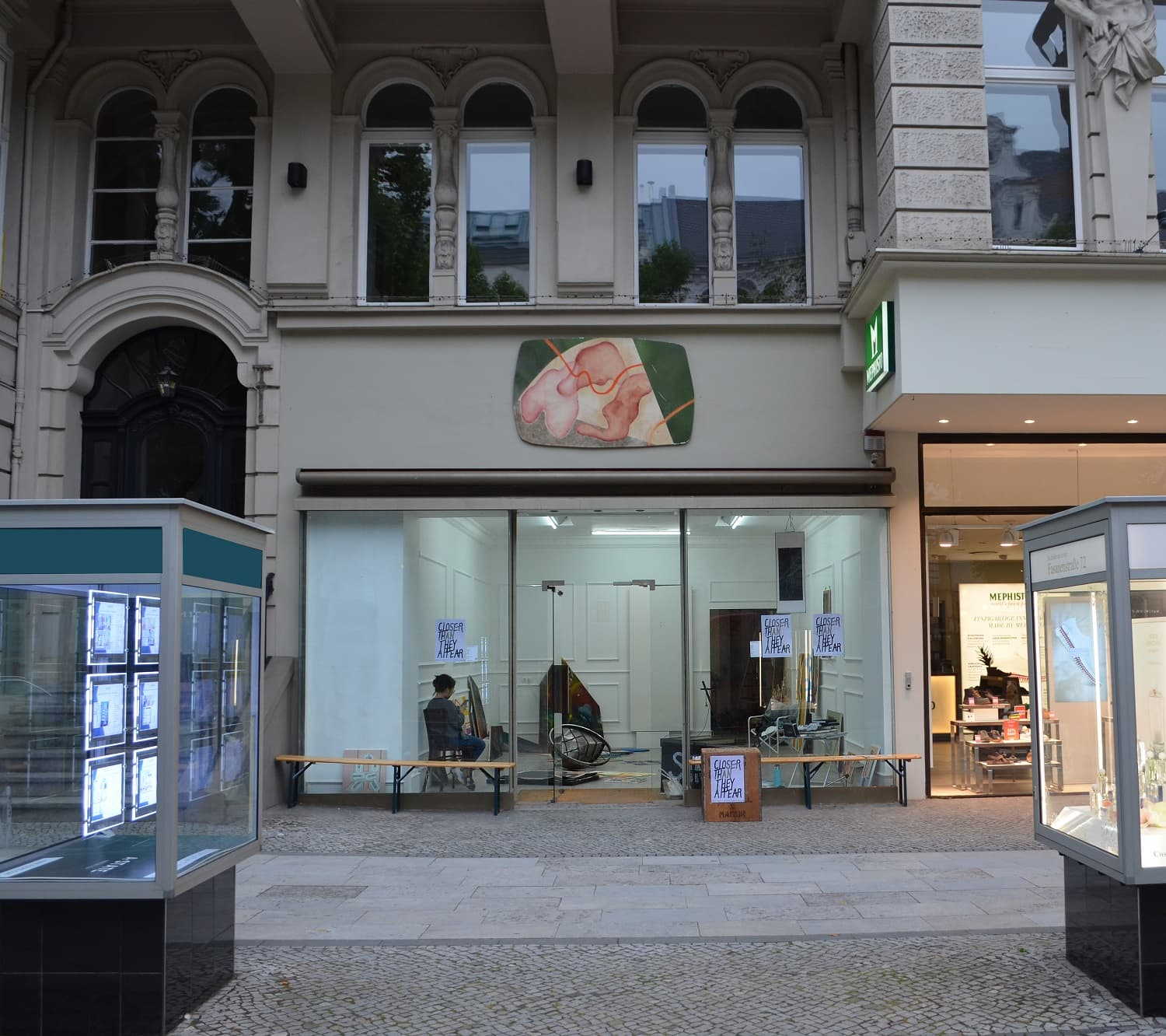 Ausstellung CLOSER THAN THEY APPEAR