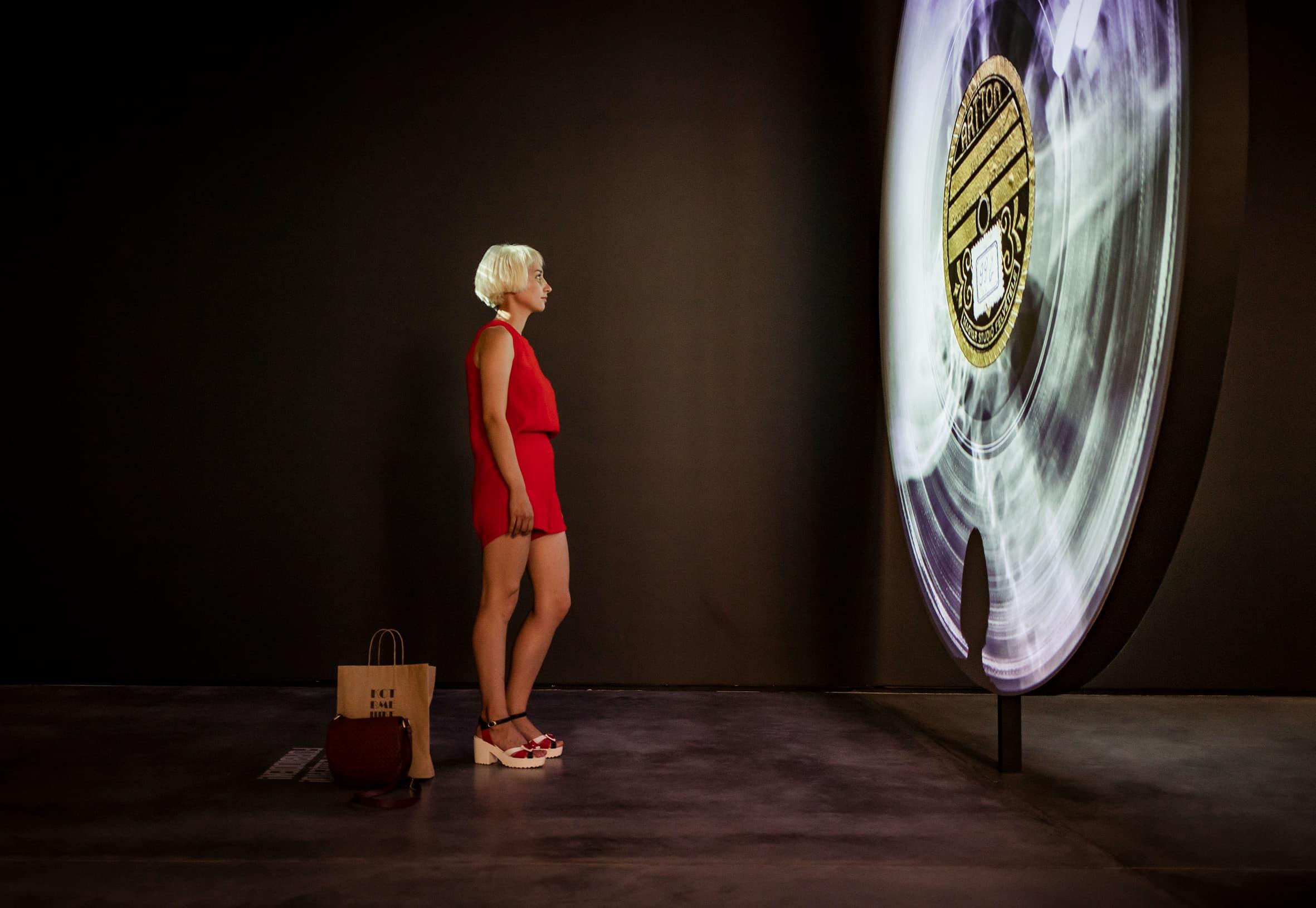 Bone Music: Eindruck der Ausstellung Garage, Moskau (c) X-Ray Audio Projekt