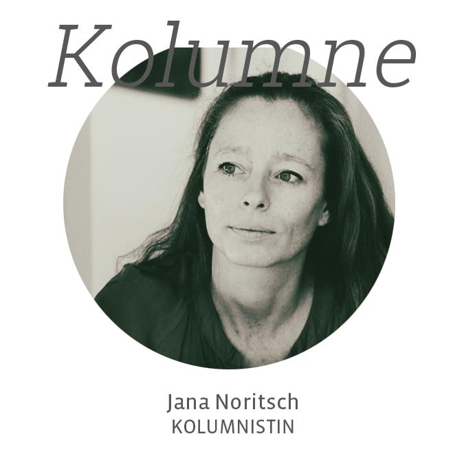 Jana Noritsch, Kolumne für Kunstleben Berlin