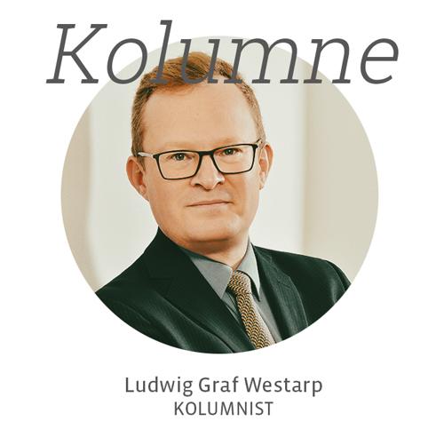 Ludwig Graf Westarp, Kolumne für Kunstleben Berlin